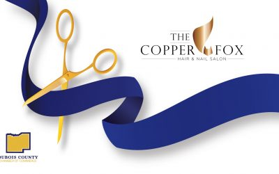 DUBOIS COUNTY CHAMBER HOSTS RIBBON CUTTING FOR COPPER FOX HAIR AND NAIL SALON